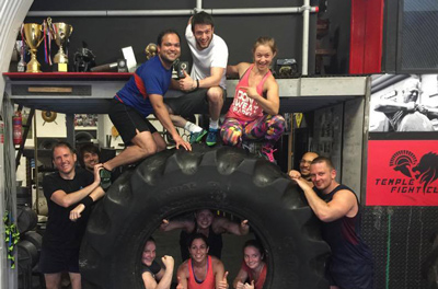 The Commando Temple fitness challenge.
