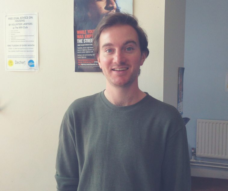 Support for our service users. Joe volunteers his time to help.